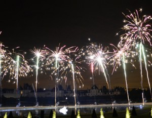 Feu d'artifice de la Saint-Louis Fontainebleau