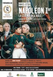 Conférence Napoléon 1er Fontainebleau