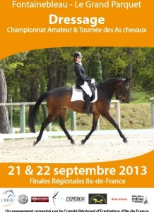 Dressage - Championnat Amateur & Tournée des As de chevaux au Grand Parquet à Fontainebleau