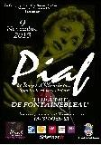 Spectacle Piaf au théâtre municipal de Fontainebleau