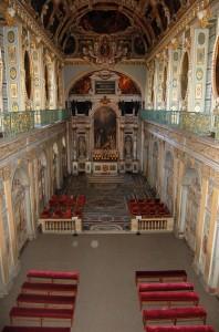 La Chapelle de la Trinité au château