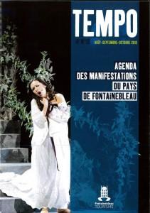 Tempo N° 15 agenda des manifestations du Pays de Fontainebleau