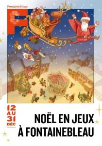 Noël en jeux à Fontainebleau