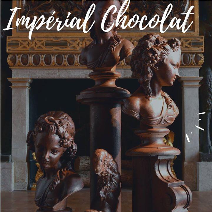 Impérial Chocolat, c'est ce week-end au château de Fontainebleau. A moins de 40 minutes…