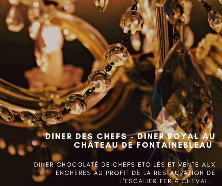 Samedi 17 Novembre : un diner des chefs, au château de Fontainebleau. A l'occasion…