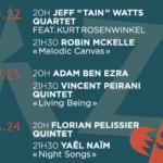 Après le succès du Festival Django Reinhardt au château de Fontainebleau, découvrez Jazz au…