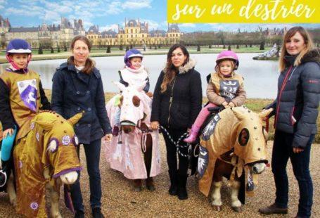 Vos enfants vont adorer devenir des chevaliers du Moyen-Âge, dans le parc du Château…