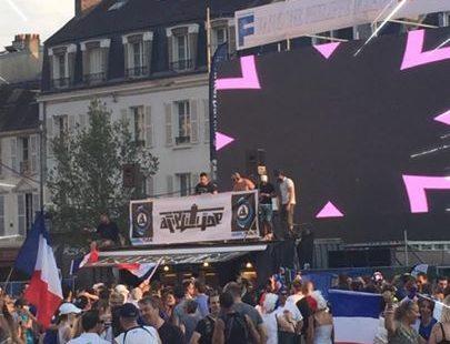 La fête continue place de la République … in the MIX !