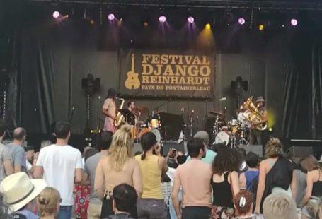 Le groupe carribéen Sons of Kemet met le feu à la scène du festival…