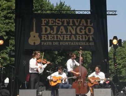 Le génial quartet Romain Vuillemin au Festival Django Reinhardt