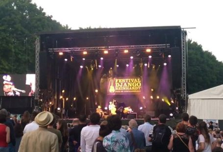 Fontainebleau Tourisme shared Festival Django Reinhardt's video