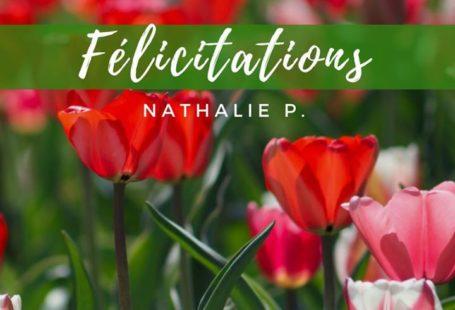 Fontainebleau Tourisme félicite Nathalie P., la grande gagnante du concours Week-end dans les villages…