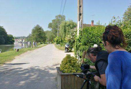 Voici quelques images du «making-of» du film, avec l'équipe de Chlorofilm Prod ! Fontainebleau…