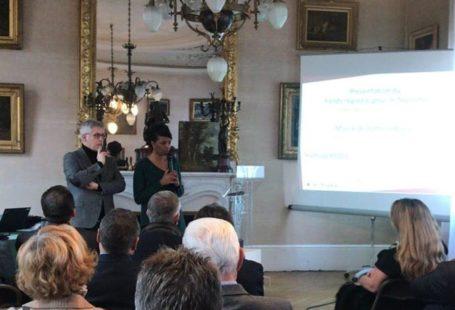 Rencontre avec les acteurs du tourisme du Pays de Fontainebleau. Hamida Rezeg, Vice-présidente en…