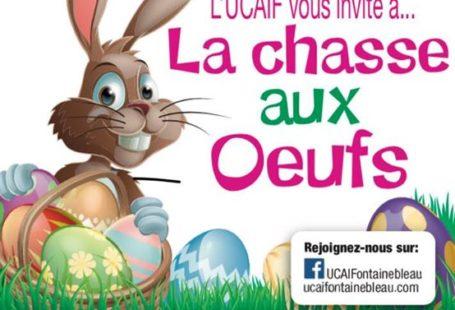 La chasse aux œufs organisée par l'UCAIF a lieu dimanche 1er avril à Fontainebleau…