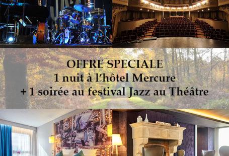 Laissez-vous tenter par un week-end #JAZZ et Nature à #Fontainebleau. Une nuit au #Mercure…