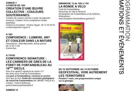 Fontainebleau Tourisme shared Biosphère Fontainebleau Gâtinais's post