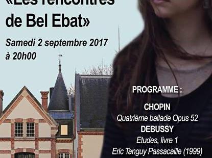 Récital de #Piano au Manoir de Bel Ebat, Samedi 2 Septembre à 20H00! Découvrez…