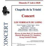 Une belle opportunité pour découvrir Fontainebleau, visiter le château et assister à un concert…