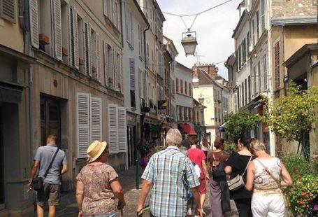 Quelques photos prises lors de la visite guidée de la ville de Fontainebleau Un…