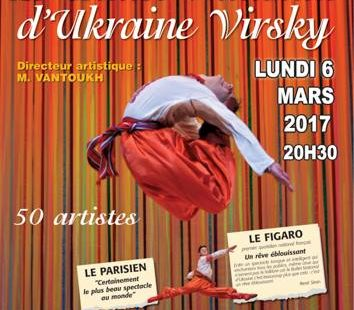 Le Ballet National d'Ukraine Virsky s'installe à Avon pour un spectacle féerique ! On…