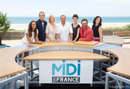 Venez assister à l'émission «Midi en France» : plusieurs plateaux en direct sont prévus…