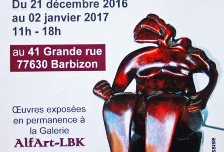 #SORTIR: Venez découvrir l'exposition du sculpteur Bernard Métranve «FEMMES» à la Galerie Alfart-Lbk Barbizon.…