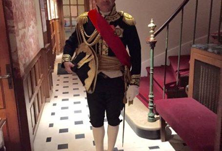 Bienvenue à #Fontainebleau ! :) #Napoléon David Chanteranne