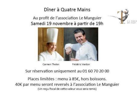 #Gastronomie #fredericVardon #fontainebleau #laTableduParc Une belle et un gros MIAM !