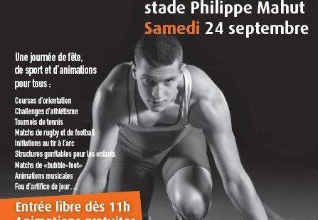 Samedi 24 septembre dès 11h, le stade Philippe Mahut (anciennement stade de la Faisanderie)…