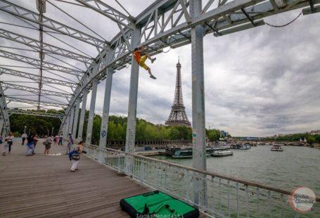 Des #grimpeurs de la #foret de #Fontainebleau s'égarent à #Paris.. et voila ce que…