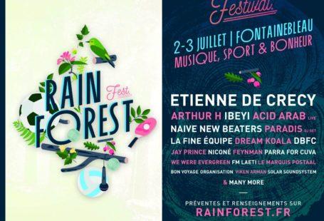 N'oubliez pas de réserver vos places pour le Rainforest festival qui arrive à grands…