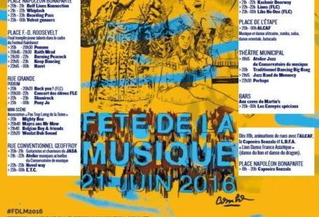 #FetedelaMusique à #Fontainebleau ! Infos: 01 60 74 99 99 / info@ #dansle77 #paysdefontainebleau…