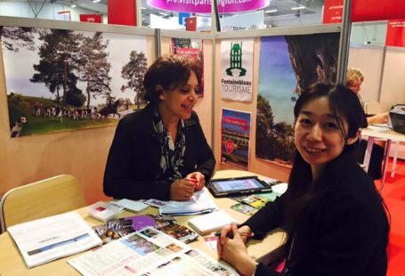 Fontainebleau Tourisme est présent au salon RDV en France 2016, un salon international dédié…