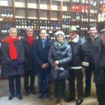 MIAM ! Mercredi 9 décembre: #visite gourmande à #Fontainebleau, avec dégustation de vin et…
