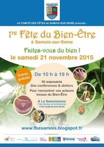 1er Salon du Bien-Etre à Samois-sur-Seine ce week-end ! Entrée libre #dansle77 #samois #salon