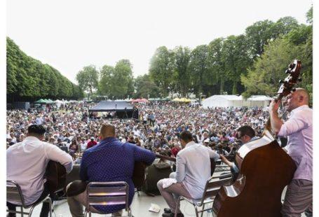 Bien démarrer le mois de juillet avec le Festival Django Reinhardt, Parc du château…