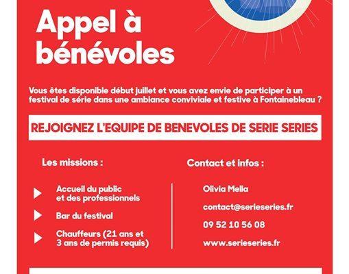Fontainebleau Tourisme, partenaire officiel de série séries, vous fait part de cet appel à…