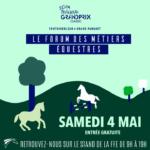 La Fédération Française d'Equitation sera présente demain au Grand Parquet pour vous donner de…