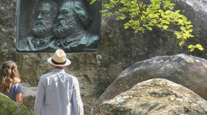 Prochain week-end, prochaine découverte? Balade romantique à Barbizon, forêt de Fontainebleau. En commençant votre…