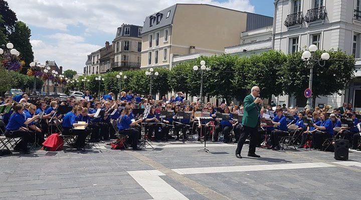 Dernier concert des Ambassadors of Music à Fontainebleau. Depuis le 12 juin, plus de…