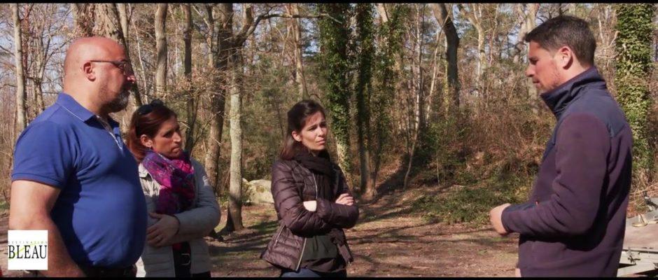 Christian Perlwitz, spécialiste des chiens de traineaux en forêt de Fontainebleau depuis 2014, fait…
