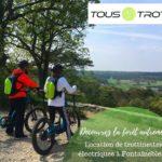 Nouveauté : location de trottinettes tout terrain électriques en région de Fontainebleau. Découvrez la…