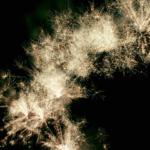 Lundi 26 août. Un grand feu d'artifice dans les jardins du Château de Fontainebleau!…