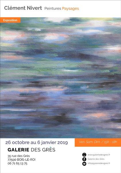 Exposition «Continuation» sur le thème de la Nature. Découvrez le travail de Clément Nivert,…