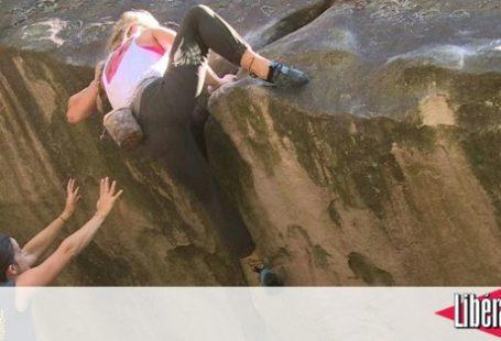 Passionnés d' #escalade ou amateurs, les rochers de la forêt de Fontainebleau offrent de…