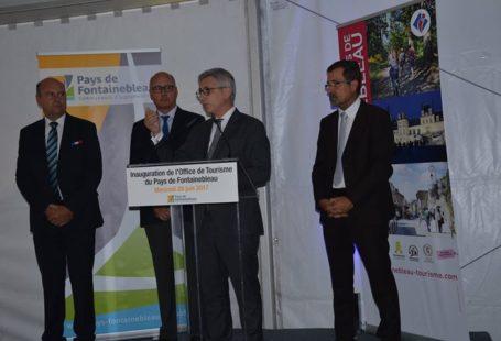 Un nouvel Office de Tourisme central au cœur du Pays de Fontainebleau Pascal Gouhoury,…