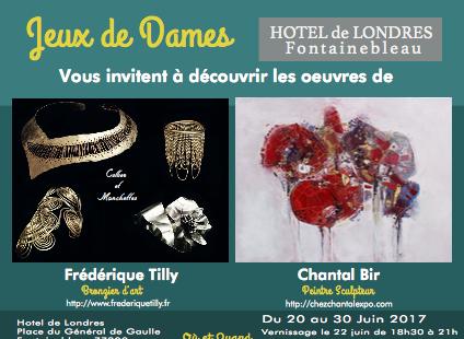 Fontainebleau Tourisme shared Jeux de Dames's photo