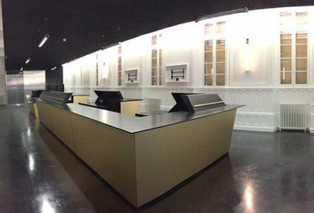 En avant-première, une photo du nouvel Accueil de Fontainebleau Tourisme presque terminé … c'est…