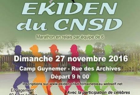 #SPORT 1ère édition du EKIDEN à Fontainebleau ! Le marathon en relais par équipe…